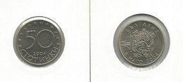 Bulgaria 50 Stotinki 2004. High Grade KM#272 NATO - Bulgaria