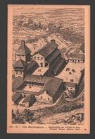 Villa Mérovingienne - Carte Pédagogique Fernand Nathan - Dos Blanc - Histoire