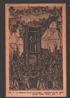 Le Seigneur Levant Ses Troupes - Miniature Du XVe Siècle - Carte Pédagogique Fernand Nathan - Dos Blanc - Histoire