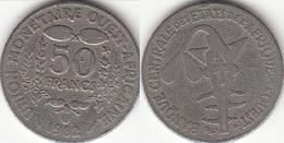 Repubblica Centro Africana 50 CAF Francs  1982 FAO KM#6 - Used - Africa Orientale E Protettorato D'Uganda