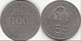 Repubblica Centro Africana 100 CAF Francs 1975 KM#4 - Used - Africa Orientale E Protettorato D'Uganda