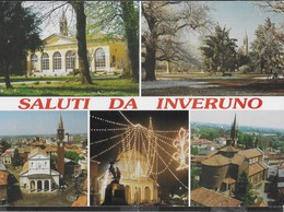 SALUTI DA INVERUNO - VARIE VEDUTE - ANNULLO CS INVERUNO (MI)  05.08.2000 - Saluti Da.../ Gruss Aus...