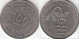 Repubblica Centro Africana 100 CAF Francs 1977 KM#4 - Used - Afrique Orientale & Protectorat D'Ouganda