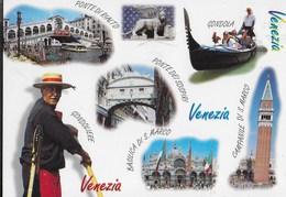 VENETO - VENEZIA - CAMMEI DELLA CITTA' - ANNULLO MECCANICO VENEZIA MARCO POLO CMP 15.05.2000 - Venezia