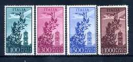 1948 Rep. It. PA SET MNH ** Ruota Alata - 6. 1946-.. Repubblica