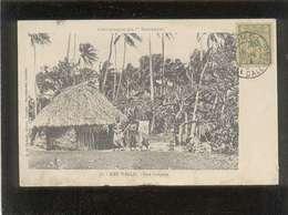 Campagne Du Kersaint  Iles Wallis Case Indigène édit. G. De Béchade N° 38 Voir état - Wallis And Futuna