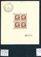 BELGIUM COB BL1 MNH SMALL FAULTS - Blocks & Sheetlets 1924-1960