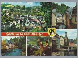 DE.- GRUSSE AUS MONSCHAU / EIFEL. - Gruss Aus.../ Gruesse Aus...