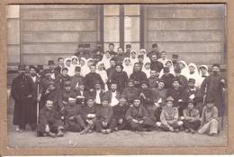 RHÔNE - LYON - MILITARIA - GUERRE 1914-18 - CARTE PHOTO - HÔPITAL , MILITAIRE , INFIRMIERE , SCOUT - War 1914-18