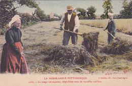La Normandie Pittoresque Le Temps Est Superbe Dépèchons Nous De Travailler Not' édit Le Goubey N°2032 St Pierre L église - Autres Communes