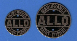 RFRA152 MARQUEUR ALLO OBJETS JEUX Et OUTILS DE MANUFRANCE SAINT-ETIENNE GM Et PM - Monetary / Of Necessity