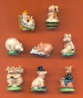 Serie Complète De 11 Feves Les Petits Cochons - Animals