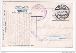18458 - Offizier Geffangene Lagers  Komm / In Der Backstube Eines Westfalischen Bauernhauses - Guerre 1914-18