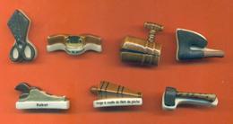 Serie Incomplète De 7/10 Feves Les Outils D'autrefois - Geschiedenis