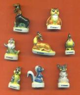 Serie Complète De 8 Feves Bambi 1995 - Disney