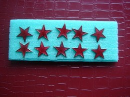 Lot De 10 étoiles Des Blessés Pour Médaille Des Blessés ( Ancien ) - France