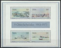 Südwestafrika Block 1 ** Postfrisch - Südwestafrika (1923-1990)