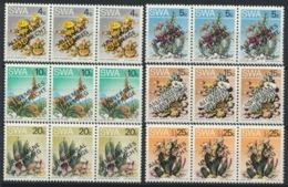 Südwestafrika 452/57I/III Dreierstreifen ** Postfrisch - Südwestafrika (1923-1990)