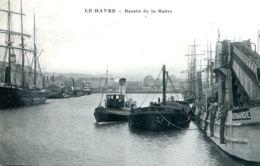 """N°66344 -cpa Le Havre -bassin De La Barre- Remorqueur  """"Kentavros"""" - Remorqueurs"""