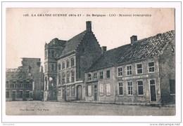 18903 La Grande Guerre 1914-17  En Belgique - Loo Maisons Bombardees  1288 - Lo-Reninge
