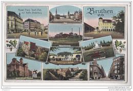 Au Plus Rapide Beuthen OS Bytom Multi-vues Silésie Occupation Française 23 Mai 1920 - Poland