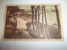 6dnl - CPA N°16 - TREBOUL - Colonie De Vacances De La Ville Du Mans - Terrasse De Josanon Et La Baie  - [29] Finistère - - Tréboul