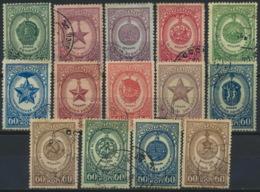 Sowjetunion 14 Werte Aus 1025/39A O - Gebraucht
