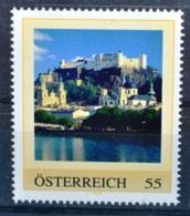 SPECIAL EDITION AUSTRIAN POST - G281 Stadtansicht Salzburg Mit Festung Hohensalzburg, Burg, AT 2009 ** - Autriche