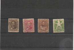HAWAÏ  Années 1875/94 N°Y/T : 27-30-36 Oblitérés Et  65(*)  Côte : 16,50 € - Hawaii