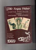 ARGUS FILDIER CARTOPHILIE 1989 - Histoire