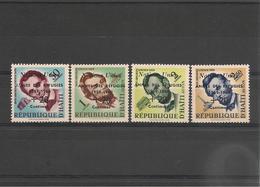 HAITI  Année 1959 N°Y/T : 419** Et P.A. N°170/72** - Haiti
