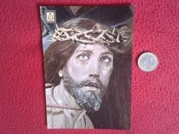 SPAIN. ANTIGUA POSTAL OLD POST CARD CARTE POSTALE MURCIA ESPAGNE MUSEO DEL SALZILLO LA CAIDA DETALLE CRISTO RELIGIÓN VER - Venezuela