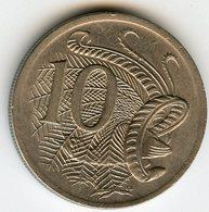 Australie Australia 10 Cents 1974 KM 65 - Monnaie Décimale (1966-...)