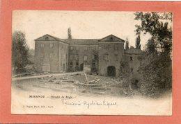 CPA - MIRANDE (32) - Aspect Du Moulin De Régis Scierie Hydraulique En 1904 - Mirande