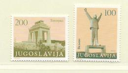 YOUGOSLAVIE  ( EU - 546 )   1983   N° YVERT ET TELLIER  N° 1874a/1875a    N** - 1945-1992 Sozialistische Föderative Republik Jugoslawien