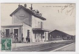 Côte-d'Or - Ste-Colombe-sur-Seine - La Gare - France