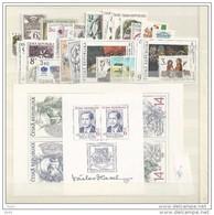 Année Complète 1996 Neuve / Complete Year Mint YT 98 / 129 + BF 3 - Tchéquie