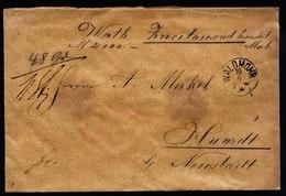 A5707) AD Bayern Wertbrief Waldmohr 19.06.94 N. Haardt M. Mi.61, 63 - Bayern