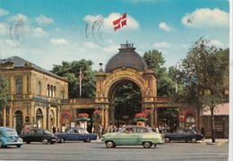 Copenhagen, Entrance To Tivoli, 1975 Used Postcard [22221] - Denmark