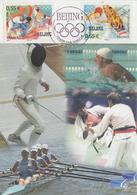 Carte  Maximum  1er  Jour   FRANCE   JEUX  OLYMPIQUES   De   PEKIN    2008 - Verano 2008: Pékin