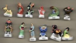 Série Complète 12 Fèves Brillantes  MULAN  - Disney 1999 - Disney
