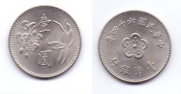 Taiwan 1 Yuan 1975 (yr.64) - Taiwan