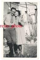 Cpa Carte-photo Tavel - Couple, Mr & Mme Bouvier - France