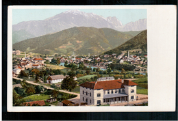 BOSNIA Eisenbahnstrecke Sarajevo- Mostar Station Konjica Ca 1910 OLD POSTCARD 2 Scans - Bosnia And Herzegovina