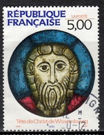 F+ Frankreich 1990 Mi 2782 Christuskopf - Oblitérés
