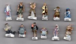 Série Complète 12 Fèves Brillantes  ATLANTIDE L'empire Perdu -  Disney 2002 - Disney