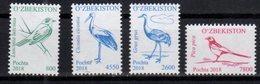 UZBEKISTAN, 2018, MNH, BIRDS,4v - Birds
