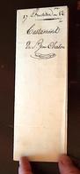 MONTPELLIER - Acte De 1814 - Testament De Mr Jean CHALON (17 Fructidor An 12) Sur Papier Filigrané Du Timbre Imperial - Manuscrits