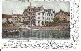 VAUD LUTRY HOTEL DE VILLE - No 688 Circulé Le  16.11.2001 - VD Waadt