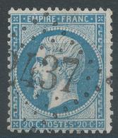 Lot N°45009  N°22, Oblit GC 2437 Montbozon, Haute-Saône (69), Ind 6 - 1862 Napoléon III